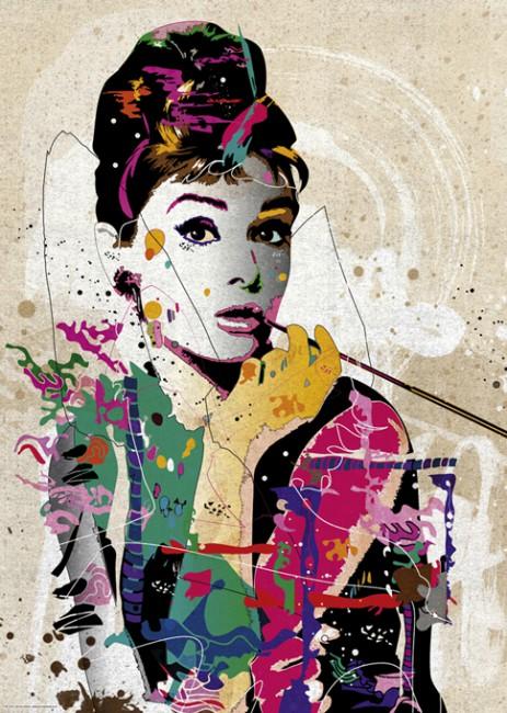Puzzle Heye Audrey Hepburn, People de 1000 Piezas