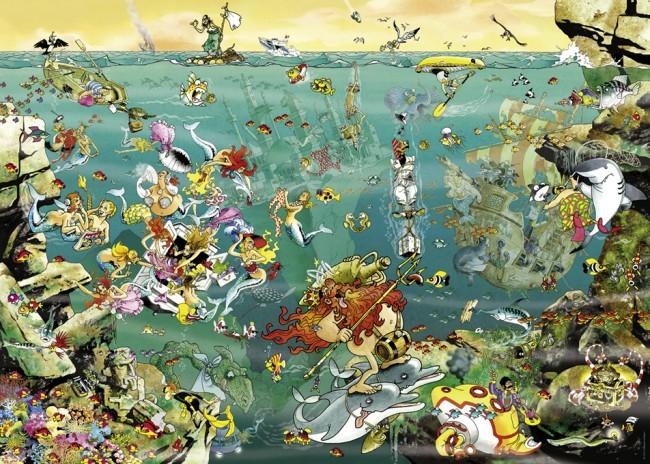 Puzzle Heye Bajo el Mar de 1000 Piezas