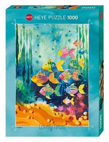 Puzzle Heye Banco de Peces de 1000 Piezas