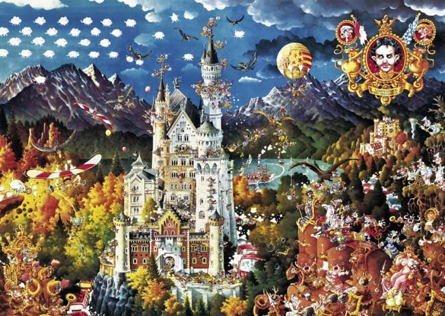 Puzzle Heye Baviera de 2000 Piezas