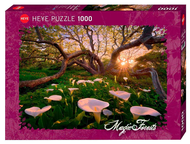 Puzzle Heye Bosques Mágicos, Claro de Calas de 1000 Piezas