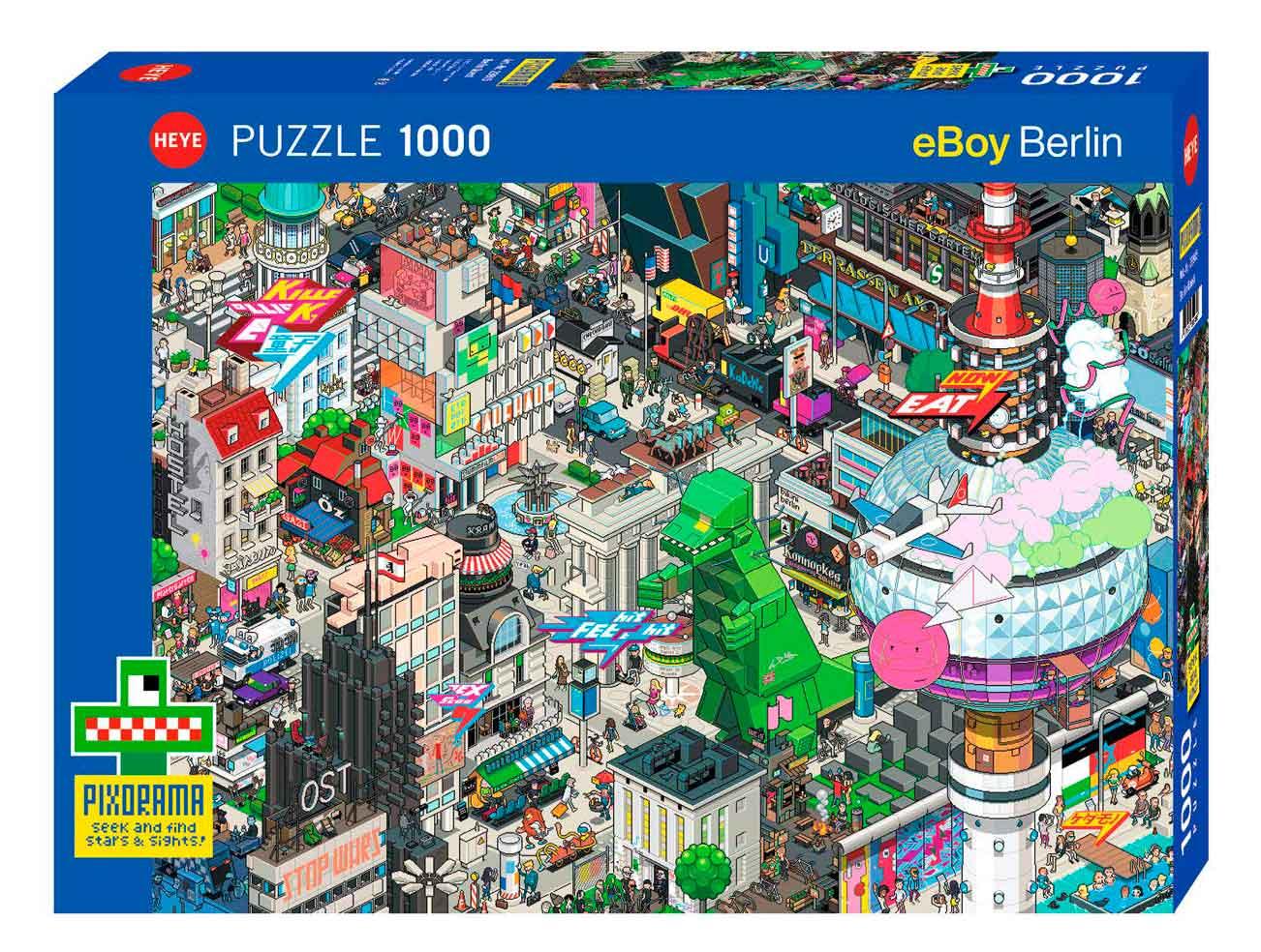 Puzzle Heye Búsqueda en Berlín de 1000 Piezas