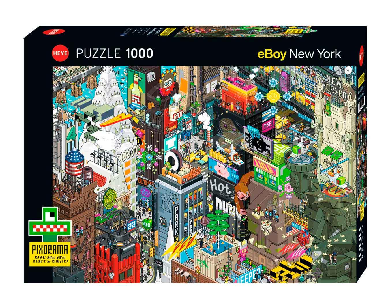 Puzzle Heye Búsqueda en Nueva York de 1000 Piezas