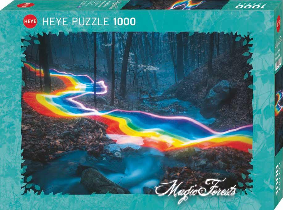 Puzzle Heye Camino Arco Íris de 1000 Piezas
