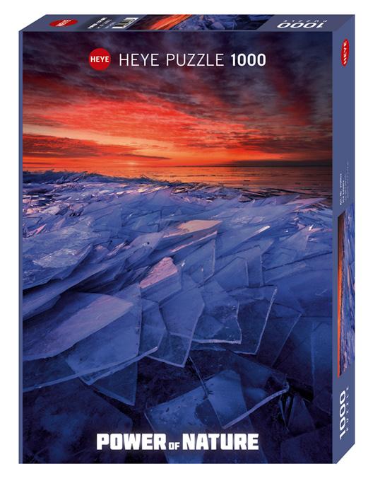 Puzzle Heye Capas de Hielo de 1000 Piezas