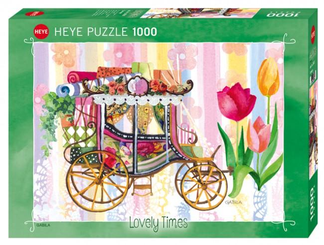 Puzzle Heye Carruaje de 1000 Piezas