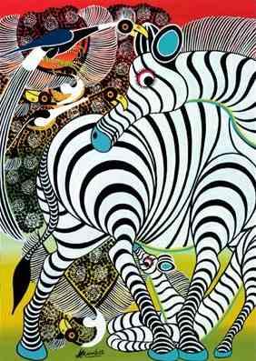 Puzzle Heye Cebras de 1000 Piezas