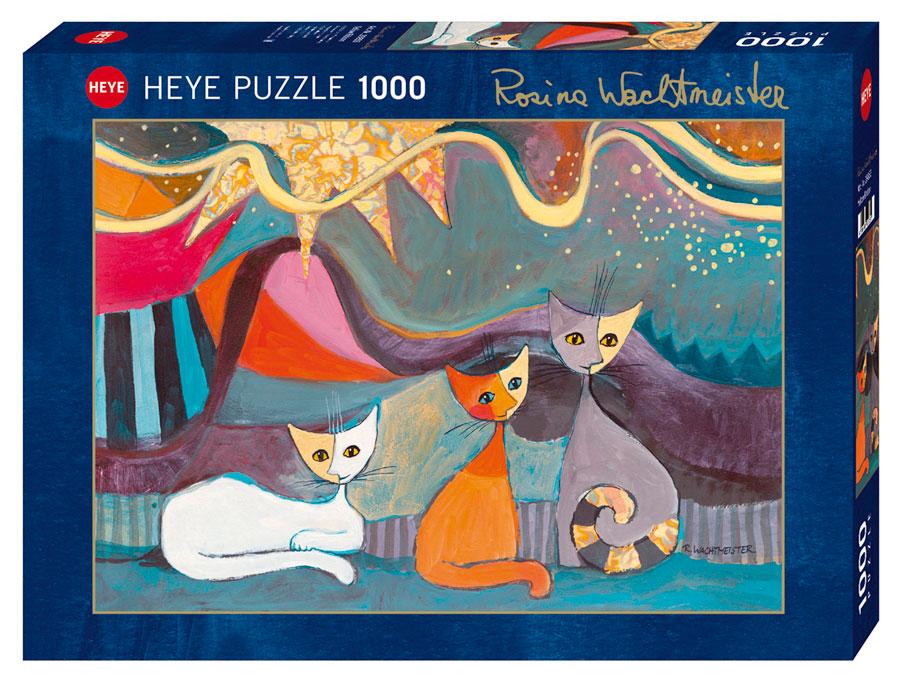 Puzzle Heye Cinta Amarilla de 1000 Piezas