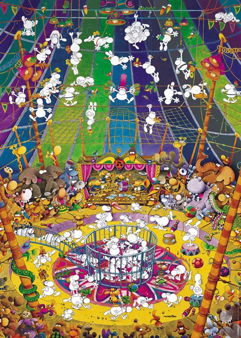 Puzzle Heye Circo Peligroso de 1000 Piezas