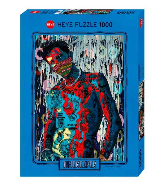Puzzle Heye Compartir Es Cuidar El Tiempo de 1000 Piezas