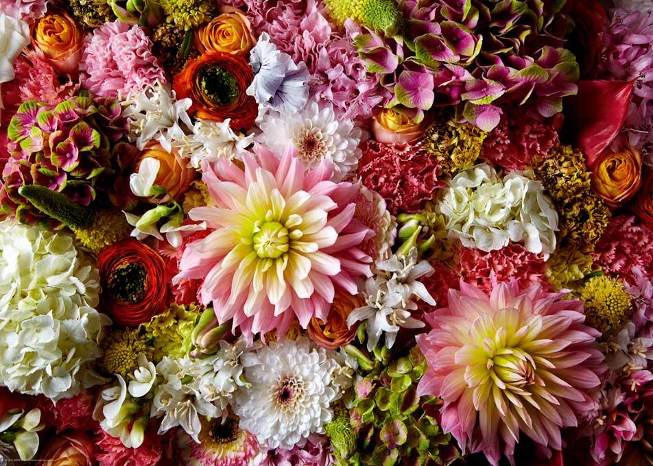 Puzzle Heye Composicion Floral II de 1000 Piezas