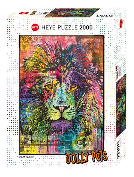 Puzzle Heye Corazón de León de 2000 Piezas