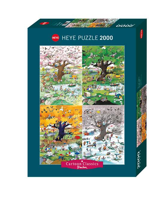 Puzzle Heye Cuatro Estaciones de 2000 Piezas