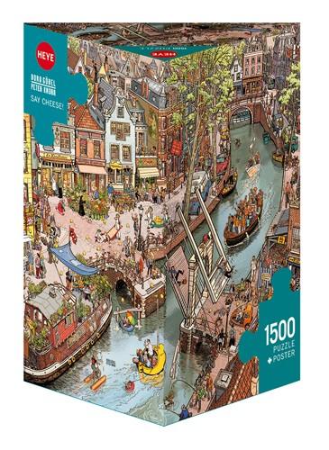 Puzzle Heye Cuidado con el Queso de 1500 Piezas
