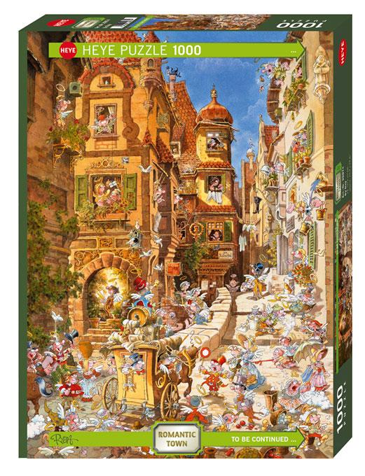 Puzzle Heye De Día de 1000 Piezas