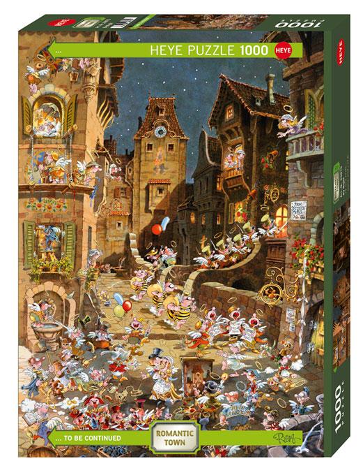 Puzzle Heye De Noche de 1000 Piezas
