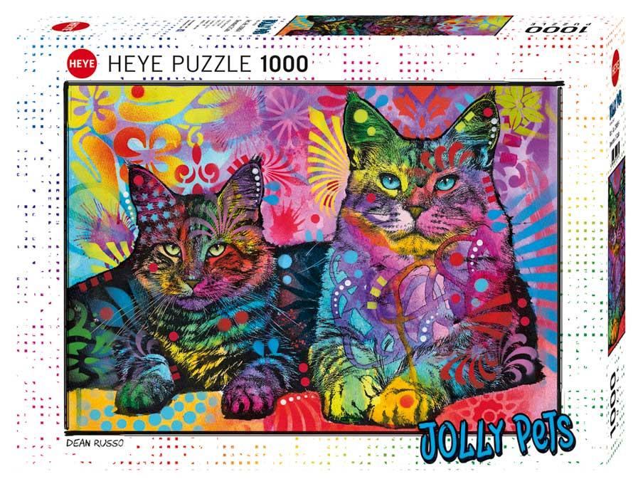 Puzzle Heye Dedicado a los Gatos de 1000 Piezas