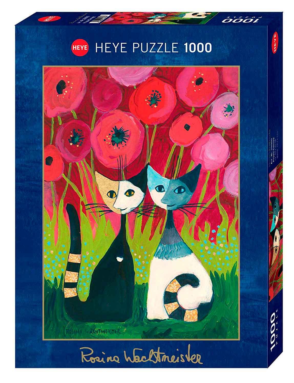 Puzzle Heye Dosel de Amapolas de 1000 Piezas