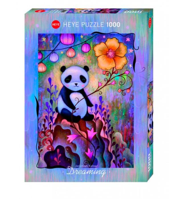 Puzzle Heye Dreaming, La Siesta del Panda de 1000 Piezas