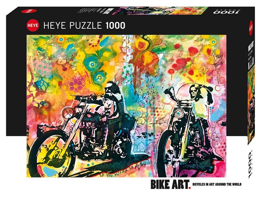 Puzzle Heye Easy Rider de 1000 Piezas