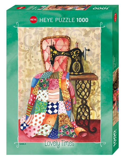 Puzzle Heye Edredón de 1000 Piezas