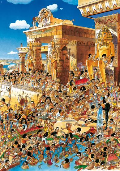 Puzzle Heye Egipto de 1000 Piezas
