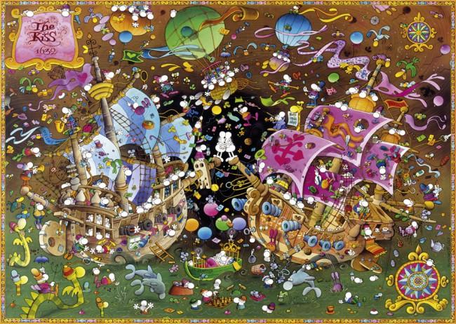 Puzzle Heye El Beso Naval de 2000 Piezas