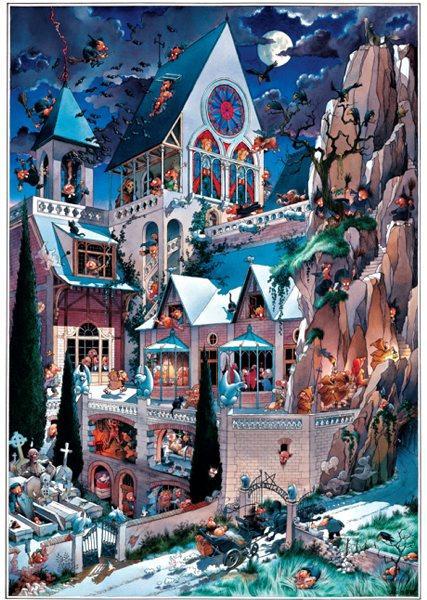 Puzzle Heye El Castillo de los Horrores de 2000 Piezas