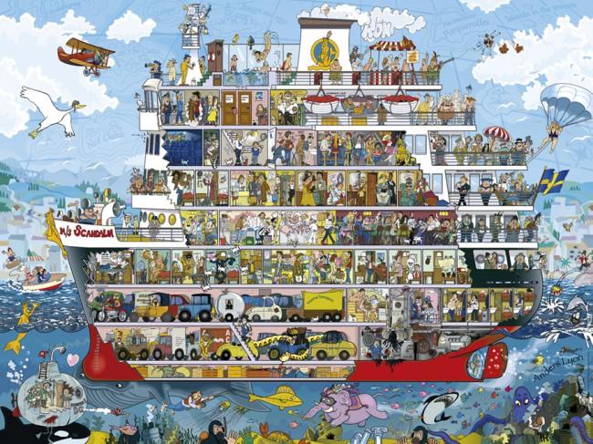 Puzzle Heye El Crucero de 1500 Piezas
