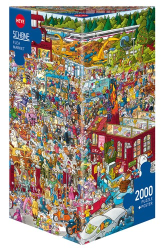 Puzzle Heye El Rastro de 2000 Piezas