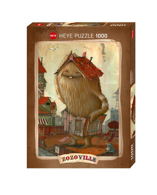 Puzzle Heye El Vecindario de 1000 Piezas