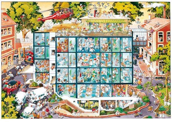 Puzzle Heye Emergencias de 2000 Piezas