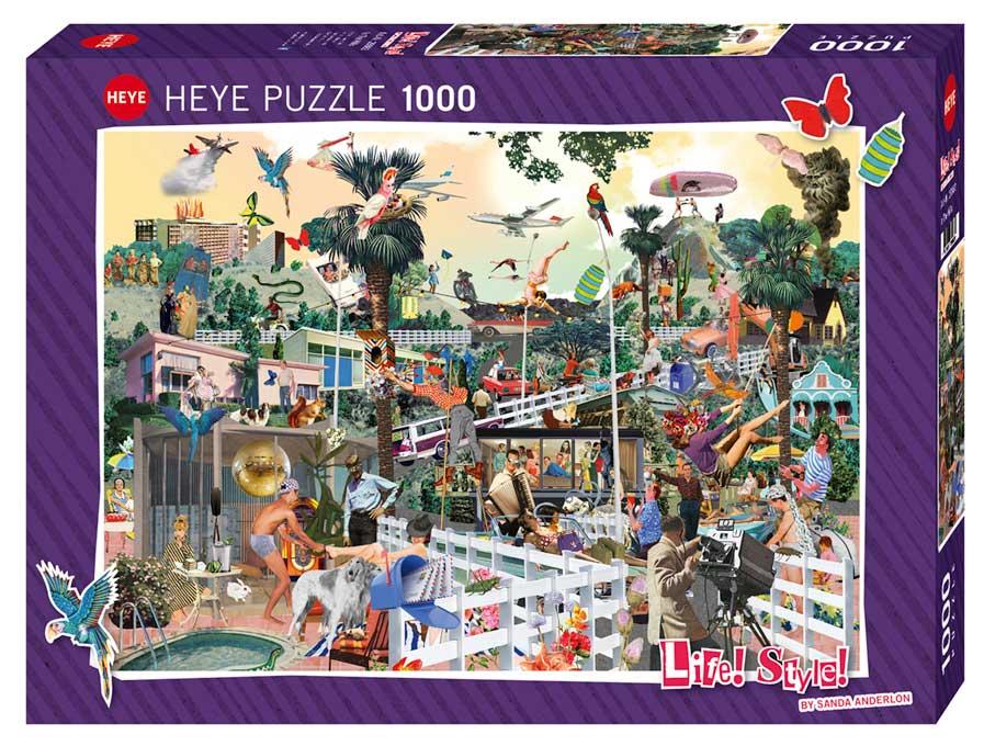 Puzzle Heye En las Colinas de 1000 Piezas