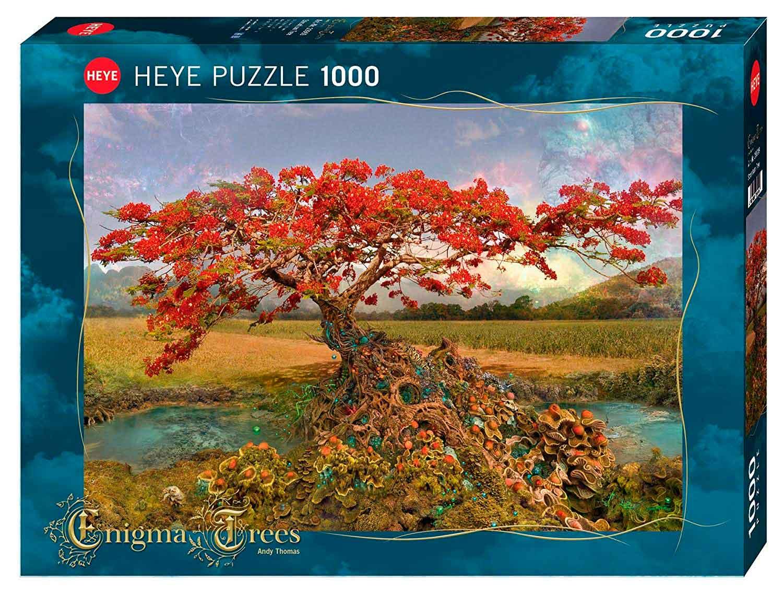 Puzzle Heye Enigma Tree, Arbol del Estroncio de 1000 Piezas