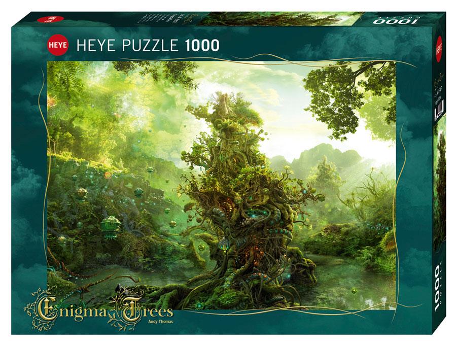 Puzzle Heye Enigma Tree, Arbol Tropical de 1000 Piezas