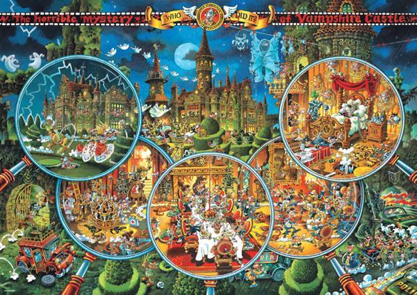 Puzzle Heye Escena del Crimen de 2000 Piezas