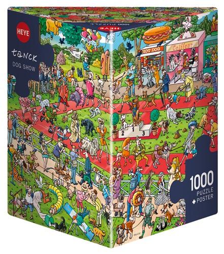 Puzzle Heye Espectáculo de Perros de 1000 Piezas