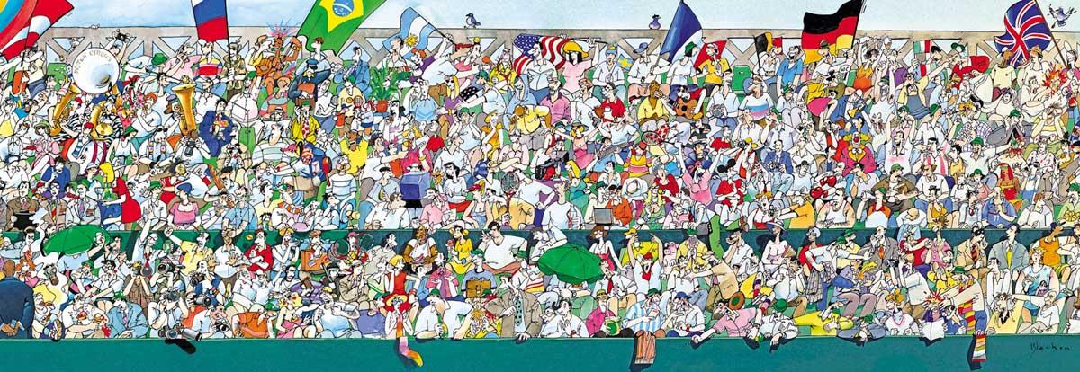 Puzzle Heye Fans del Deporte de 1000 Piezas