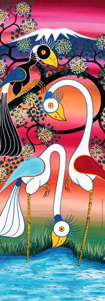 Puzzle Heye Flamencos de 1000 Piezas