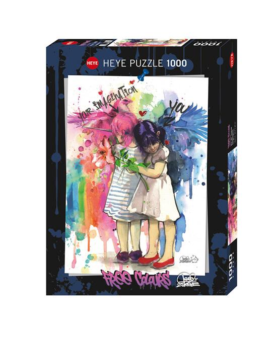 Puzzle Heye Free Colours, Imaginación de 1000 Piezas