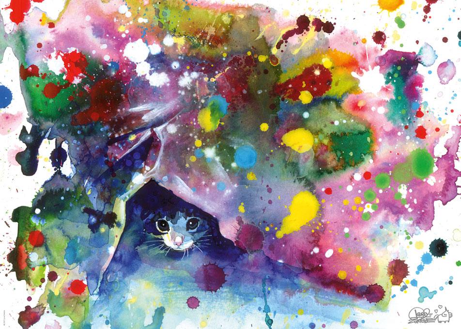 Puzzle Heye Free Colours, Meow de 1000 Piezas