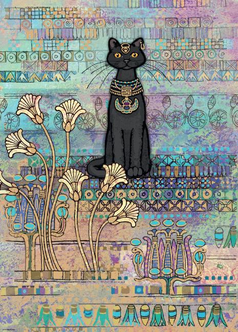 Puzzle Heye Gato Egipcio de 1000 Piezas