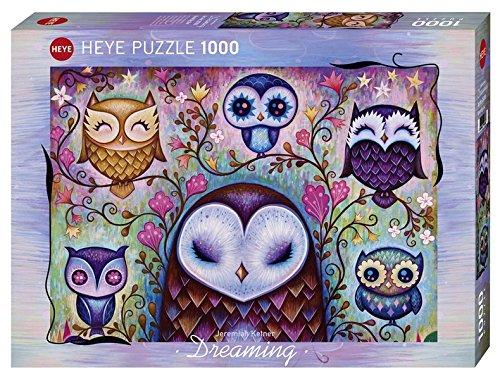 Puzzle Heye Grandes Búhos de 1000 Piezas