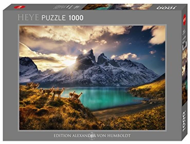 Puzzle Heye Guanacos de 1000 Piezas