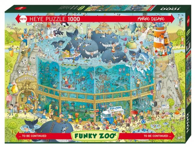 Puzzle Heye Hábitat del Océano de 1000 Piezas