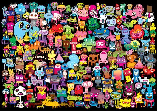 Puzzle Heye Hi There de 2000 Piezas