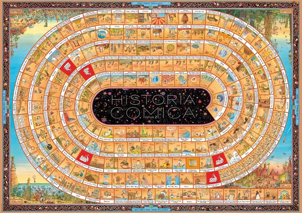 Puzzle Heye História Cómica II de 4000 Piezas