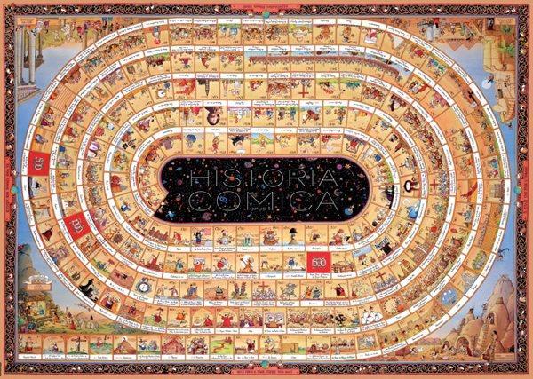 Puzzle Heye História Cómica I de 4000 Piezas