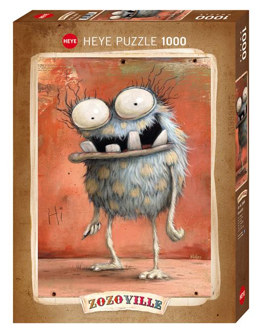 Puzzle Heye Hola Monstruo! de 1000 Piezas