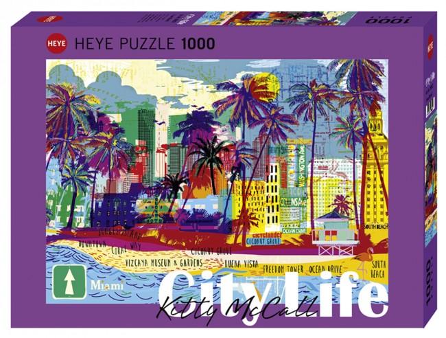 Puzzle Heye I Love Miami de 1000 Piezas